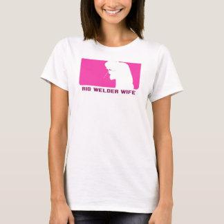 """Rig Welder Wife """"League Series"""" T-Shirt"""