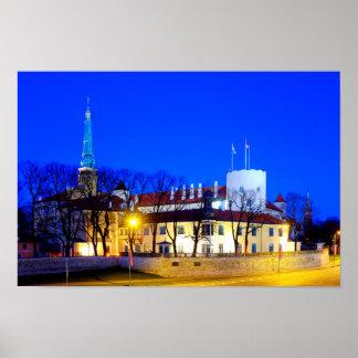 Riga Castle Poster