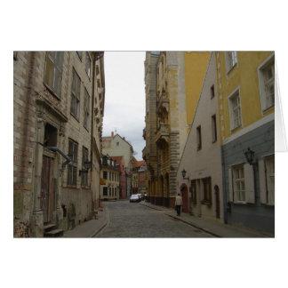 Riga Latvia Card