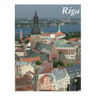 Riga, Latvia Postcard