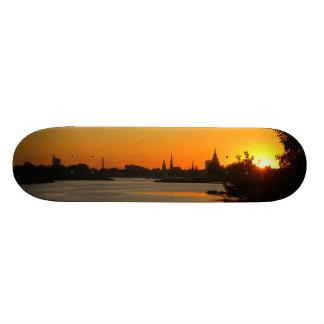 "Riga ""Ligo"" sunset Custom Skateboard"