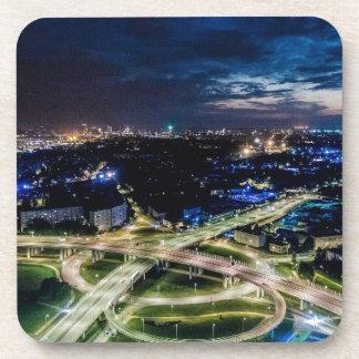 Riga Night Skyline Coaster
