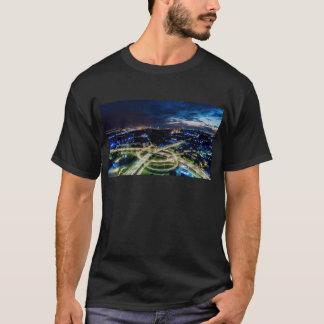 Riga Night Skyline T-Shirt