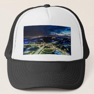 Riga Night Skyline Trucker Hat