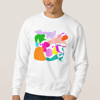 Right Crab Snow Hope Map Continent Trial.pdf Sweatshirt