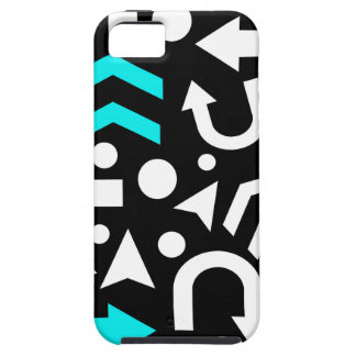 Right direction - cyan iPhone 5 covers