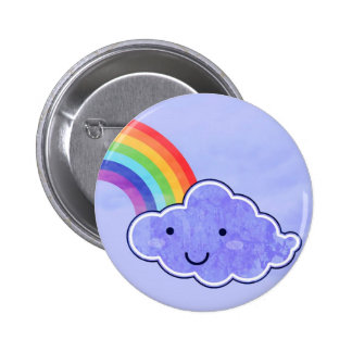 Right side of the rainbow 2 inch round button