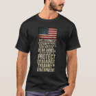 Right To Bear Arms - Thomas Jefferson Quote T-Shirt