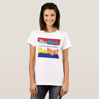 Right to Freedom from Gun Violence T-Shirt