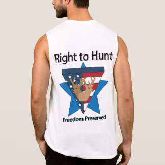 Right to Hunt Sleeveless Shirt