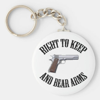 Right To Keep And Bear Arms 1911 Key Chain