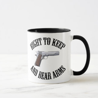Right To Keep And Bear Arms 1911 Mug