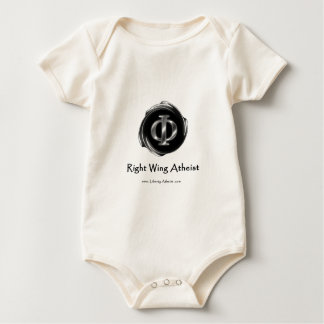Right Wing Atheist Baby Bodysuit