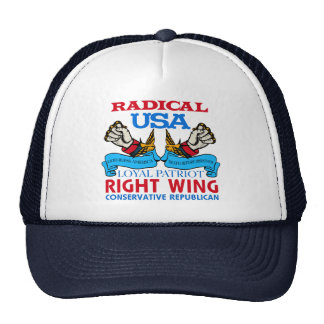 Right Wing Conservative Trucker Hat