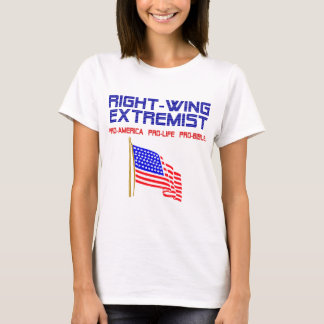 Right Wing Extremist Flag T-Shirt