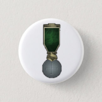 Righteous Cross 1 Inch Round Button