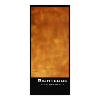 """Righteous"" Value Bookmarks Rack Card"