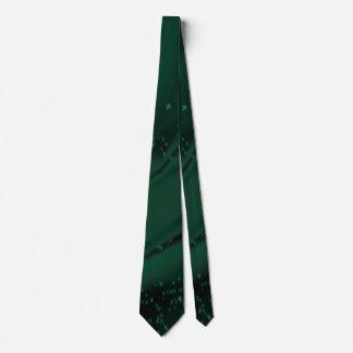 Rigid (green) tie