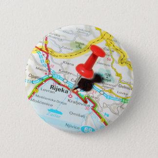 Rijeka, Croatia 2 Inch Round Button