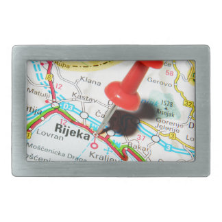 Rijeka, Croatia Rectangular Belt Buckle
