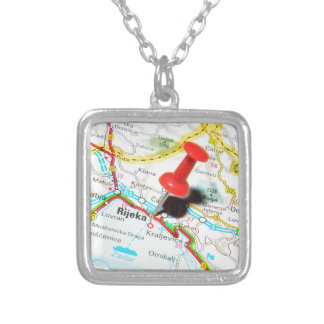 Rijeka, Croatia Silver Plated Necklace