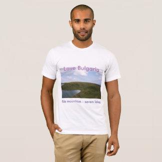 "Rila mountain - seven lakes T-shirt ""Love Bulgaria"
