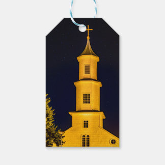 Rilan Church, Chiloe, Chile Gift Tags