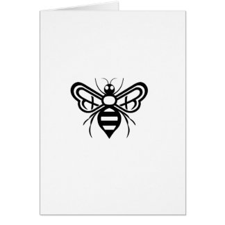 Riley Acres Bee Logo Card