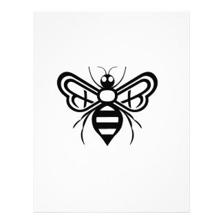 Riley Acres Bee Logo Personalized Letterhead
