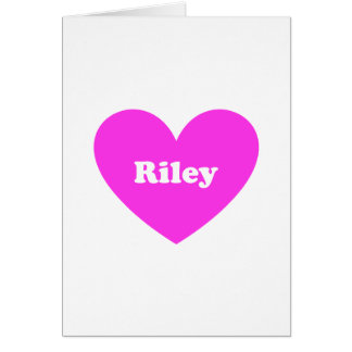 Riley Card