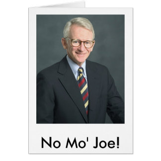 riley_joe, No Mo' Joe! Card