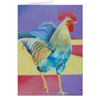Riley the Rooster Card
