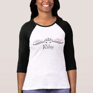 Riley Tiara Scroll T-Shirt by 369MyName
