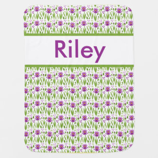 Riley's Personalized Iris Blanket