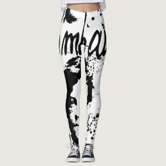 RIMBAUD graffiti style Leggings