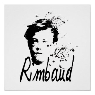 RIMBAUD - Graphic Art - Perfect Poster