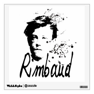 RIMBAUD - Graphic Art Wall Decal