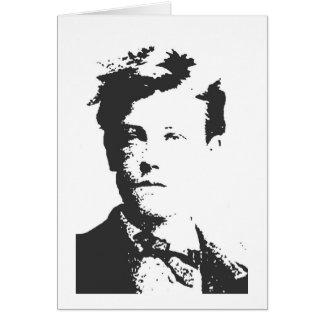 Rimbaud Greeting Card
