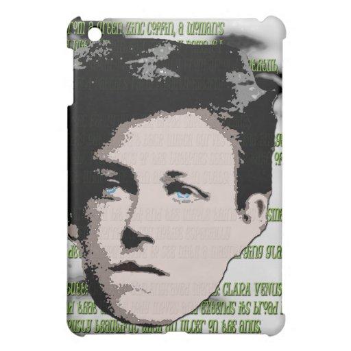 Rimbaud i-pad Case iPad Mini Cover