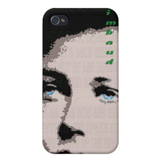 Rimbaud i-phone case covers for iPhone 4