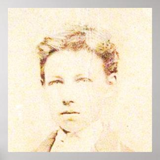 Rimbaud in 16 poster