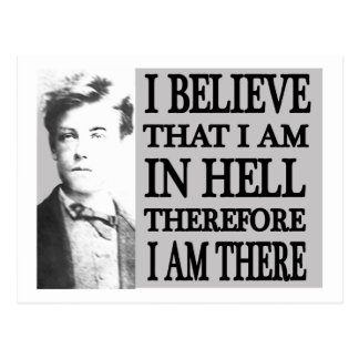 Rimbaud in Hell Post Card