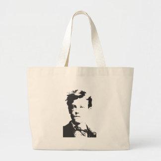 Rimbaud Jumbo Tote Bag