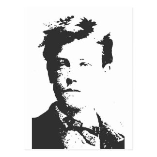 Rimbaud Postcard