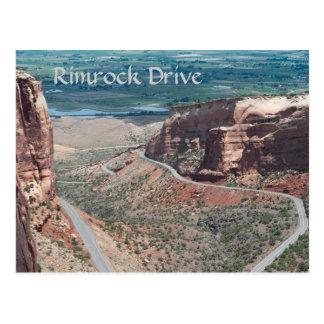 Rimrock Drive Postcard