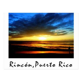 Rincon Beach Puerto Rico Postcard