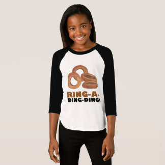 Ring-A-Ding-Ding Onion Ring Funny Junk Food Foodie T-Shirt