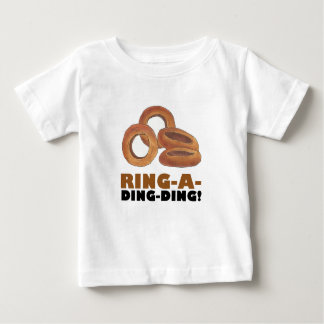 Ring-A-Ding-Ding Onion Ring Rings Junk Food Foodie Baby T-Shirt