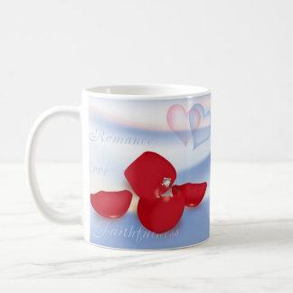 Ring and Petals Coffee Mug
