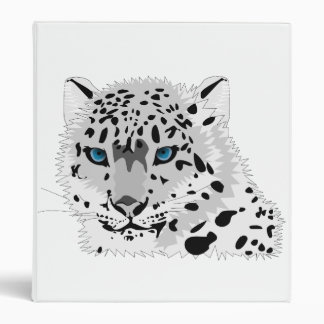 Ring, Avery 1 Inch Binder w/ Snow Leopard